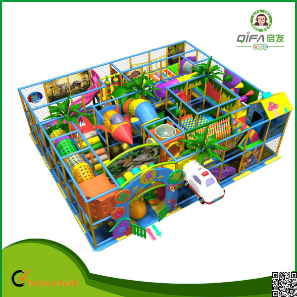 China New Design  Indoor Play Structure For Kids