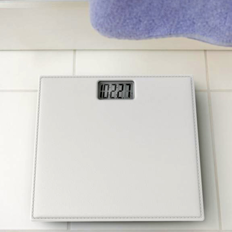 Soft Platform Electronic Weighing Bathroom Scale