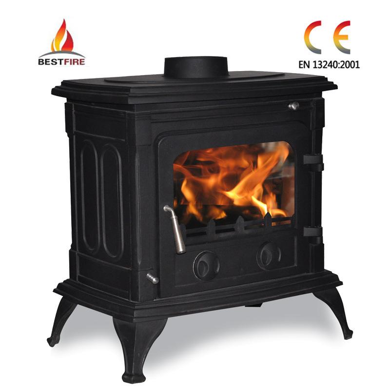 Cast Iron Wood Burning Stove Crescent Cast Iron Wood