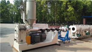 PVC, PVC-C Pipe Plastic Extrusion Line