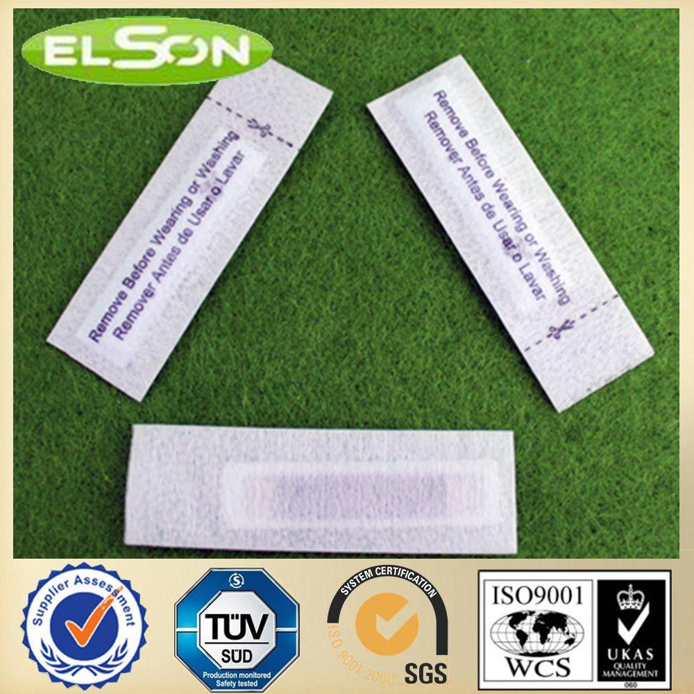 White Fabric EAS 58kHz Am Security Label (AJ-LA-06)