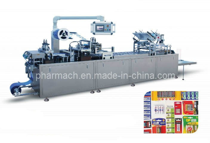 Dzp-400f Automatict Flat Cardboard Plastic Hot Sealing Packing Machine