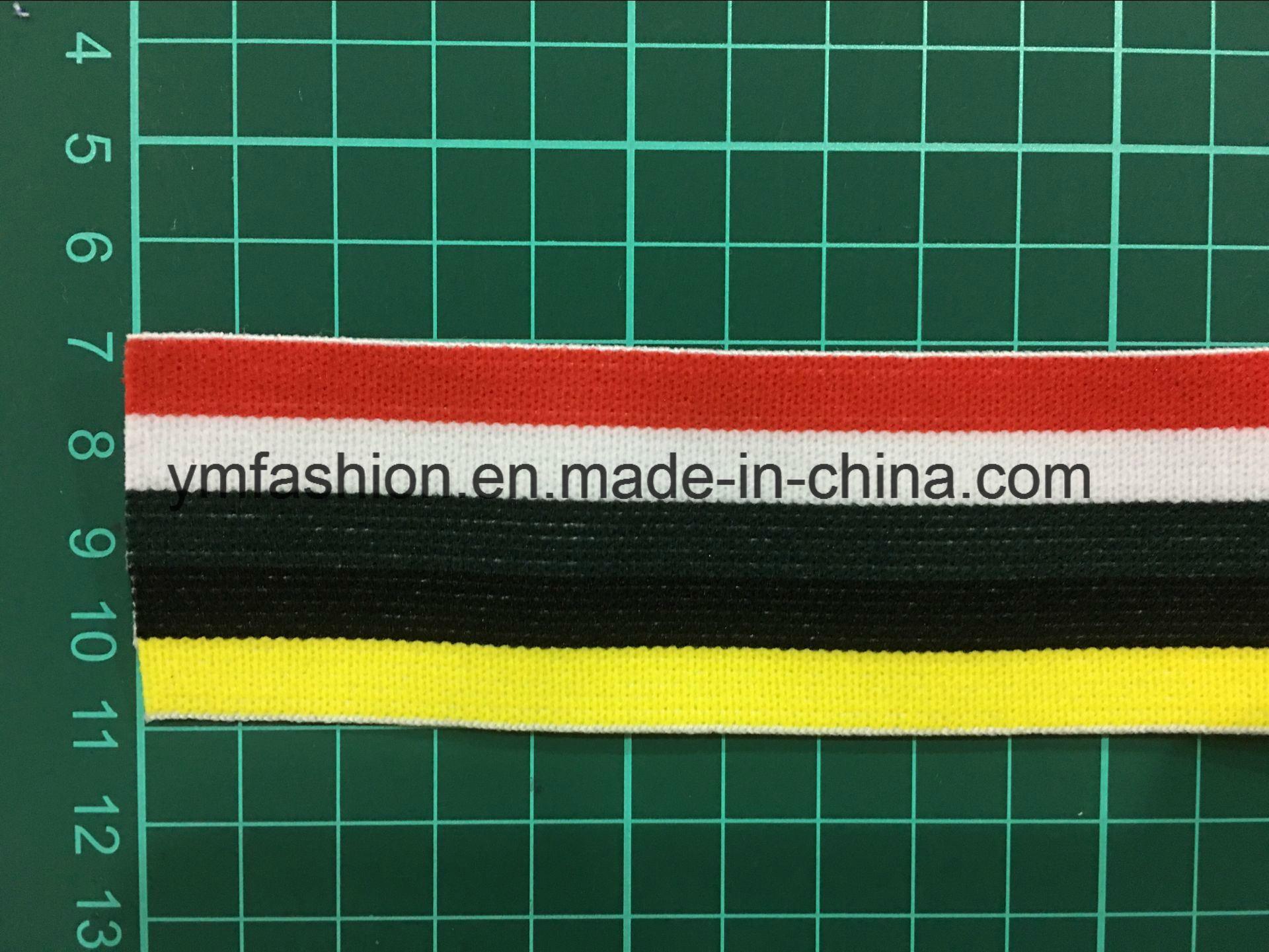 Custom High Elasticity Polyester Woven Elastic Tape for Underwear Ym-1111