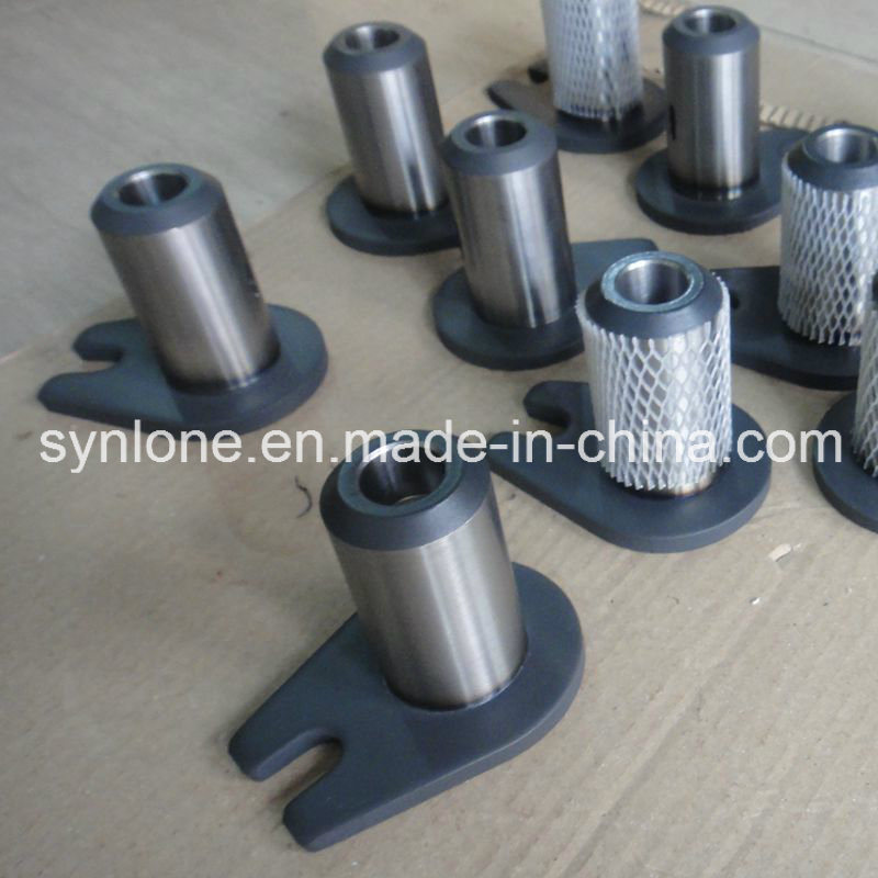 OEM Welding and Machining Assembly Parts Shaft with Ear