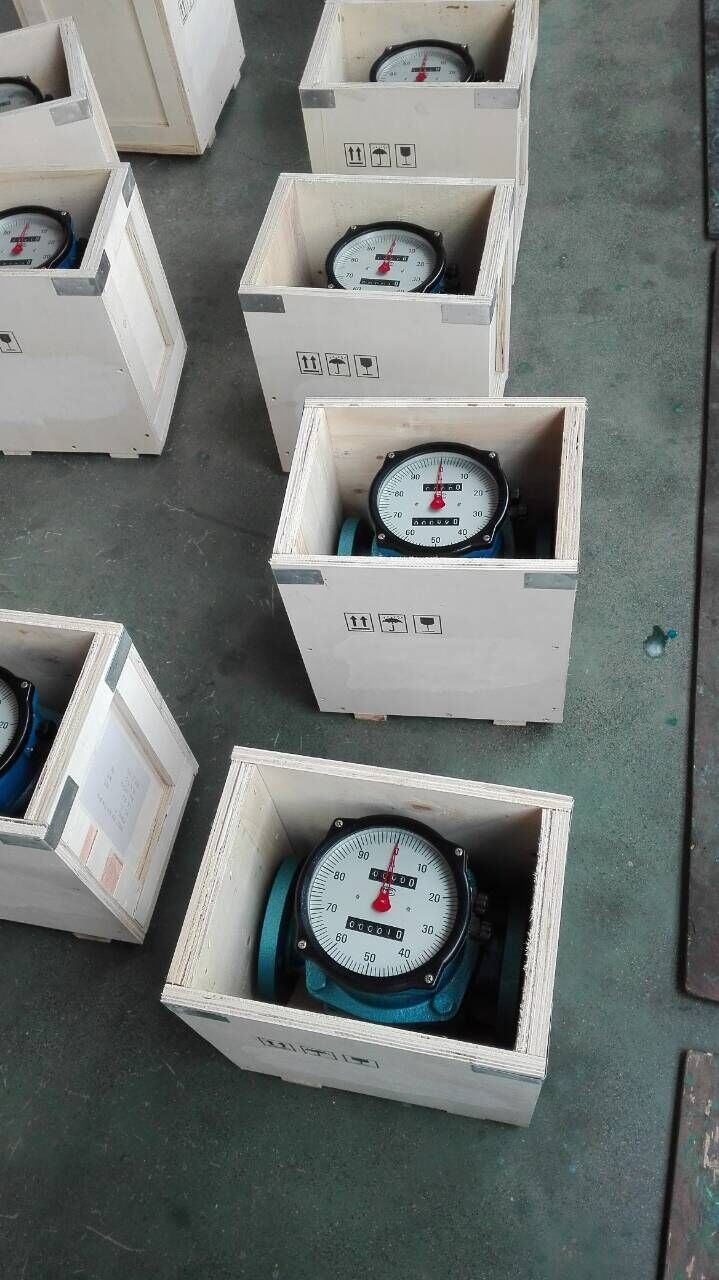 High Precision Cast Iron Roots Flow Meter