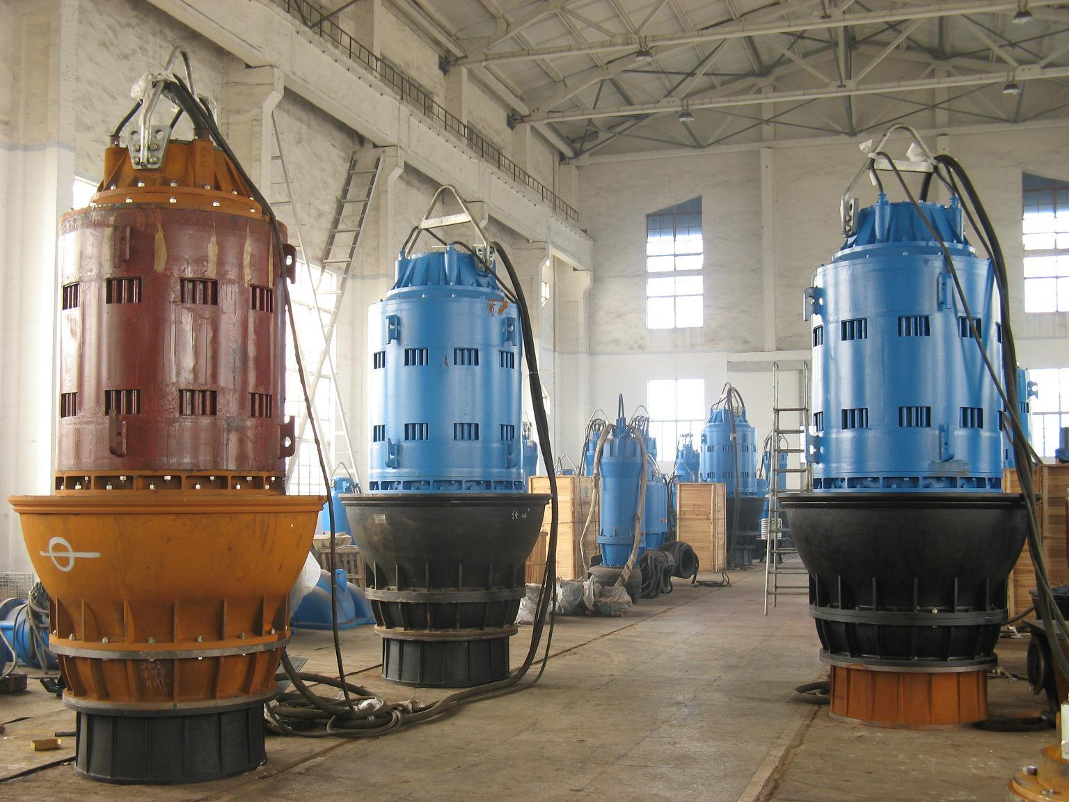 Submersible Axial-Flow/Mixed-Flow Pump (ZQB/HQB)