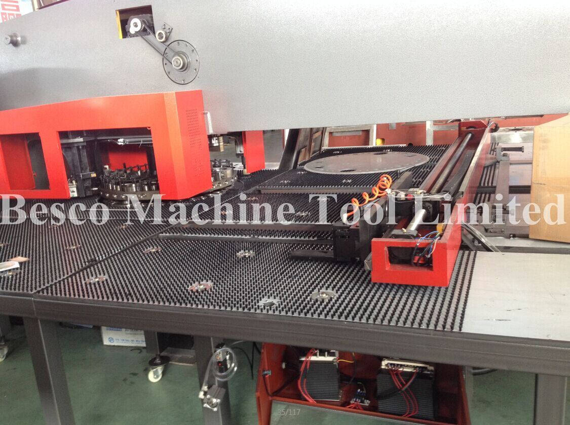 O Type CNC Turret Punch Press Machine