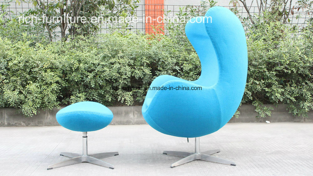 Modern Classic Designer Egg Leisure Chair for Hotel, Living Room,