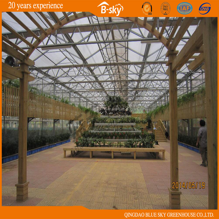 Glass Greenhouse China Manufacture
