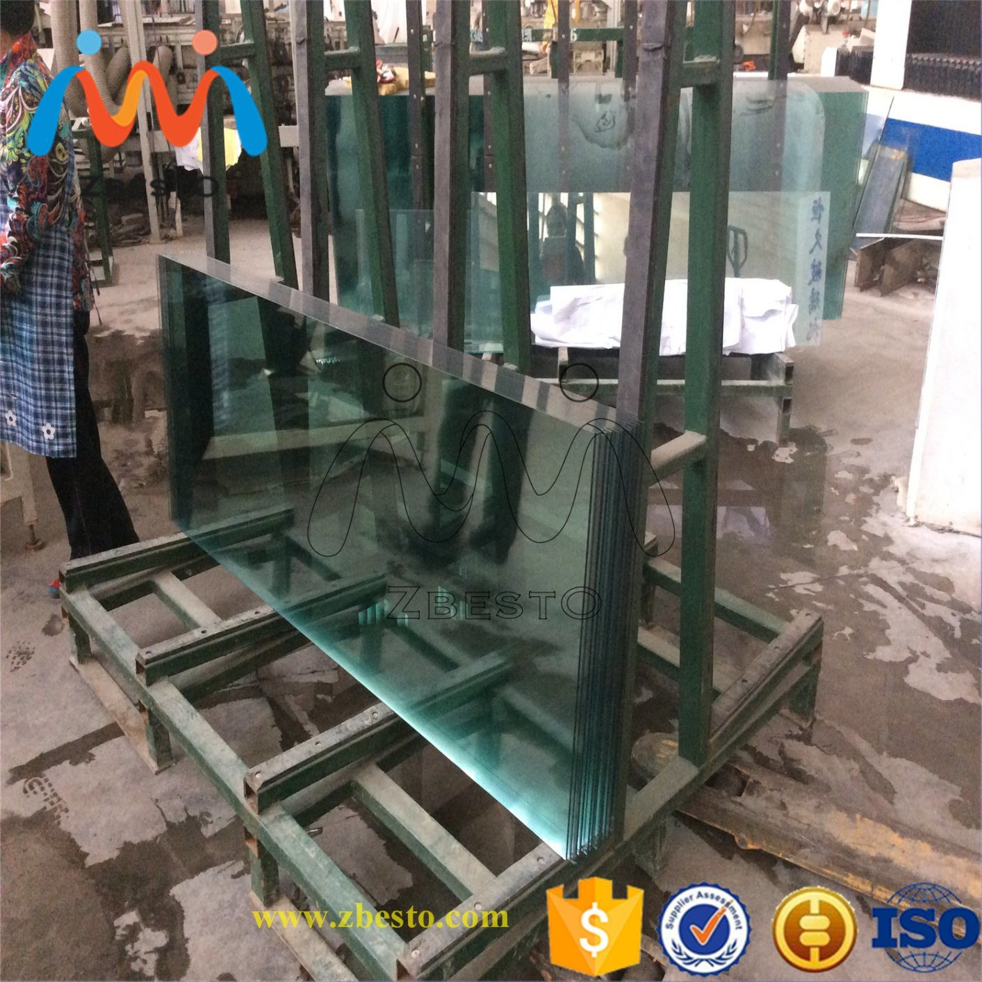 Custom Made Tempered Glass Table Top/Cut to Size