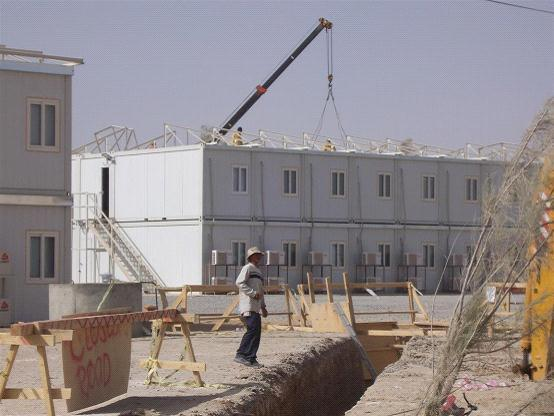 knock down house for mining camp/workers′accommodation