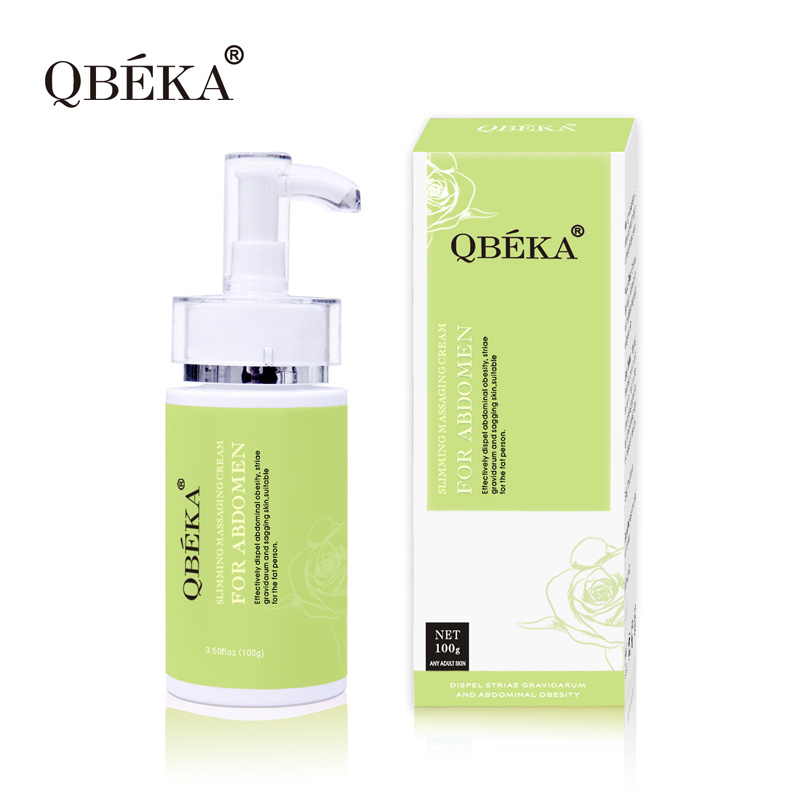 QBEKA Slimming Massaging Cream for Abdomen Weight Loss Ice Hot Cool Slimming Cream