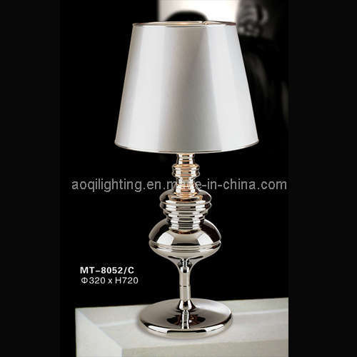 Grace Project Silver Table Lamp (MT-8052/C)