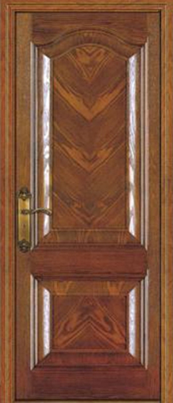 2016 High Quality Interior Wooden Door, Bedroom Door, Safety Solid Wood Door