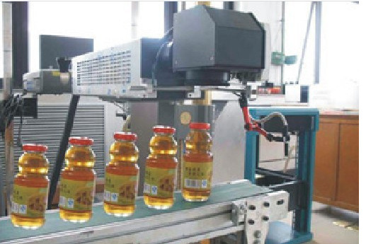 High Capacity Filling Line (15000bottles/hour) Date Laser Printing/Marking Machine