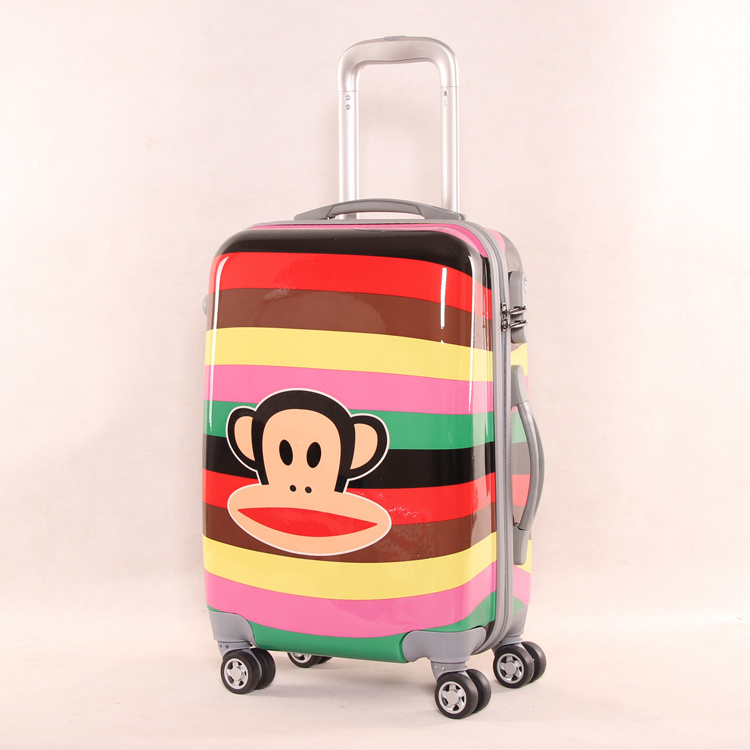 Student Pull Box Suitcase ABS+PC Suitcase 20 Inch Chassis, 24 Inch Universal Wheel Password Luggage Wholesale