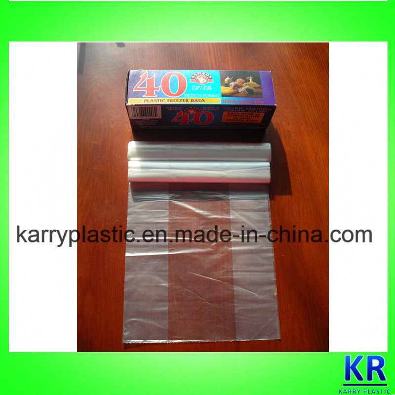 Fresh Food Packing Freezer Bags HDPE Bags on Promotion