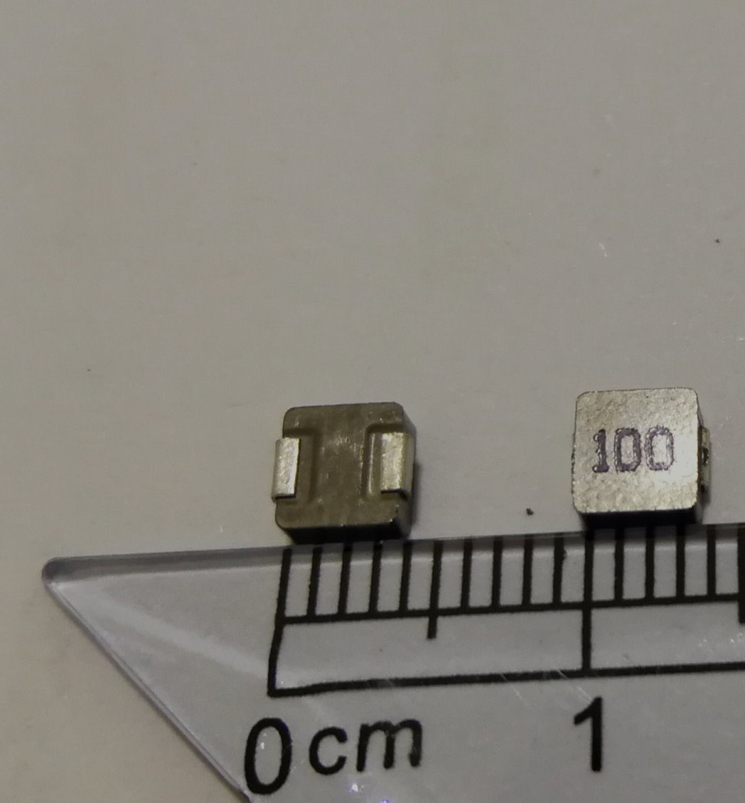 Molding Power Inductor, 100uh 20%, Current: 1.5A for Power Bank, Power Supplier
