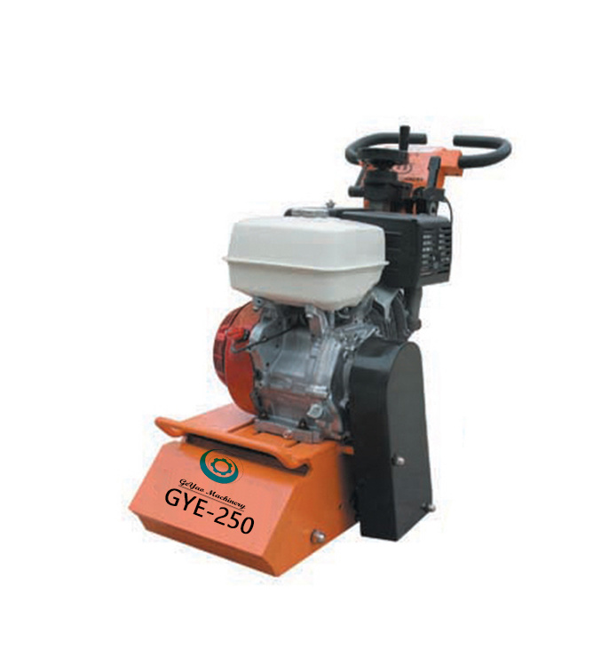 Easily Change Drum Assembly Floor Scarifier Milling Machine Gye-250