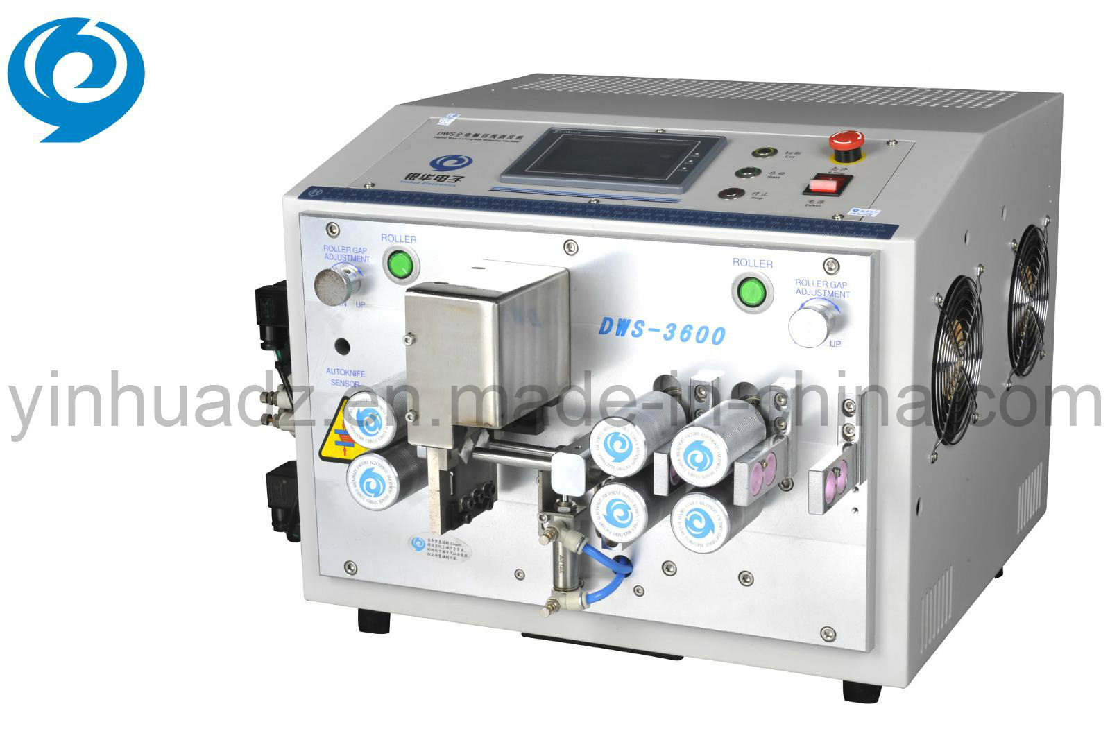 Digital Wire Cutting and Stripping Machine (DWS-3600)