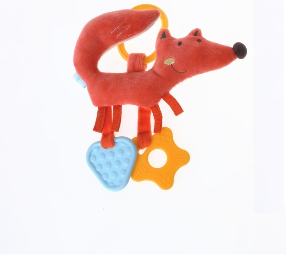 Muti-Function Baby Plush Fox Teether Toy