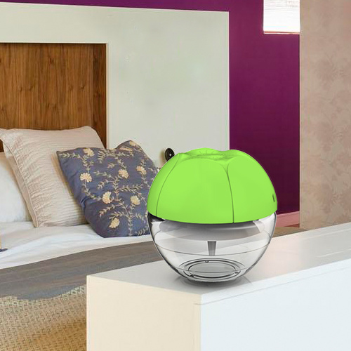 Portable USB Air Humidifier Use on Cumputer Desk