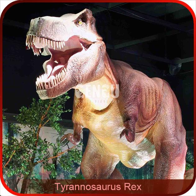 Indoor Realistic Model Dinosaur Exhibit