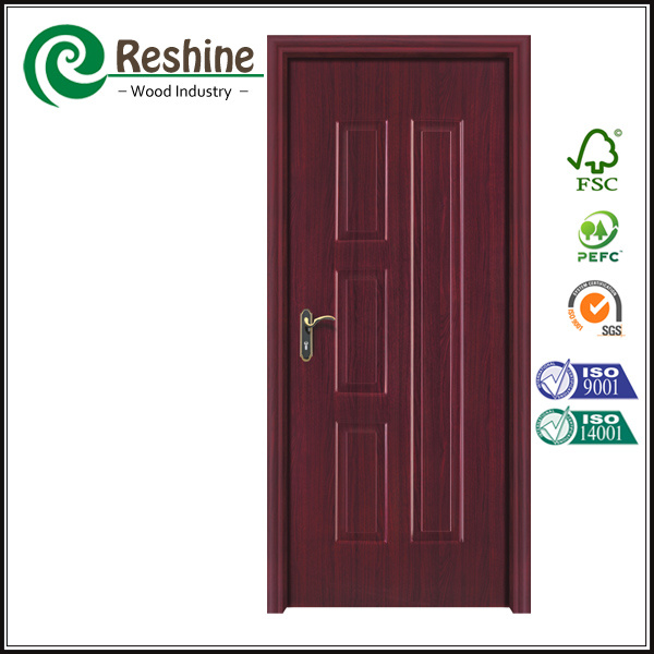 Composite HDF MDF Melamine Wooden Interior Door