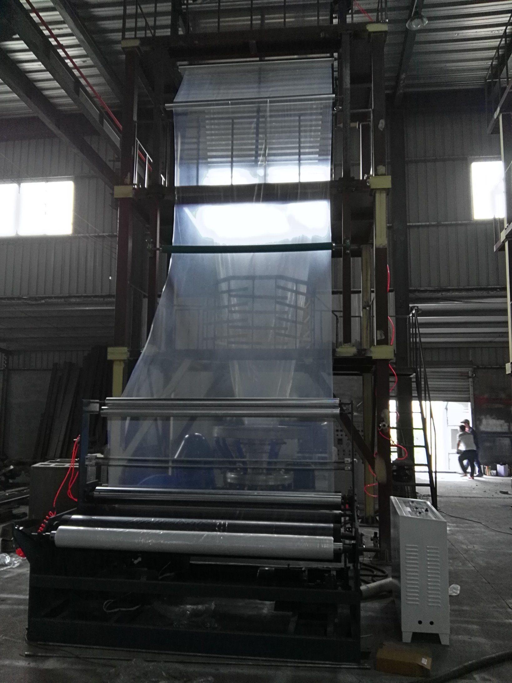 3000mm Big Wide Blown Film Machine PE Extruder