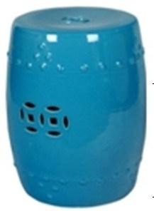 Chinese Porcelain Garden Stool (LS-15)