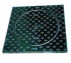 Black Bitumen Ductile Iron Manhole Cover