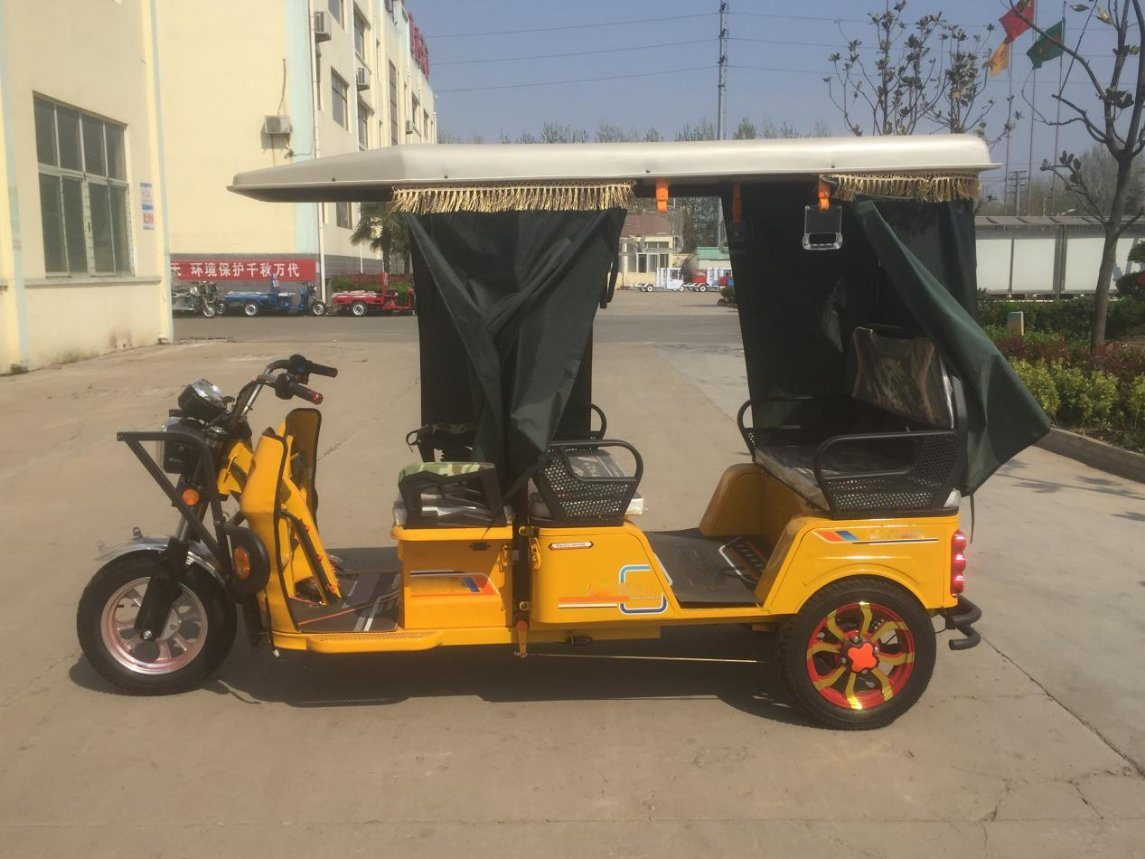 2017 Hot Four Passengers 850W Three Wheel Electro Tricycle