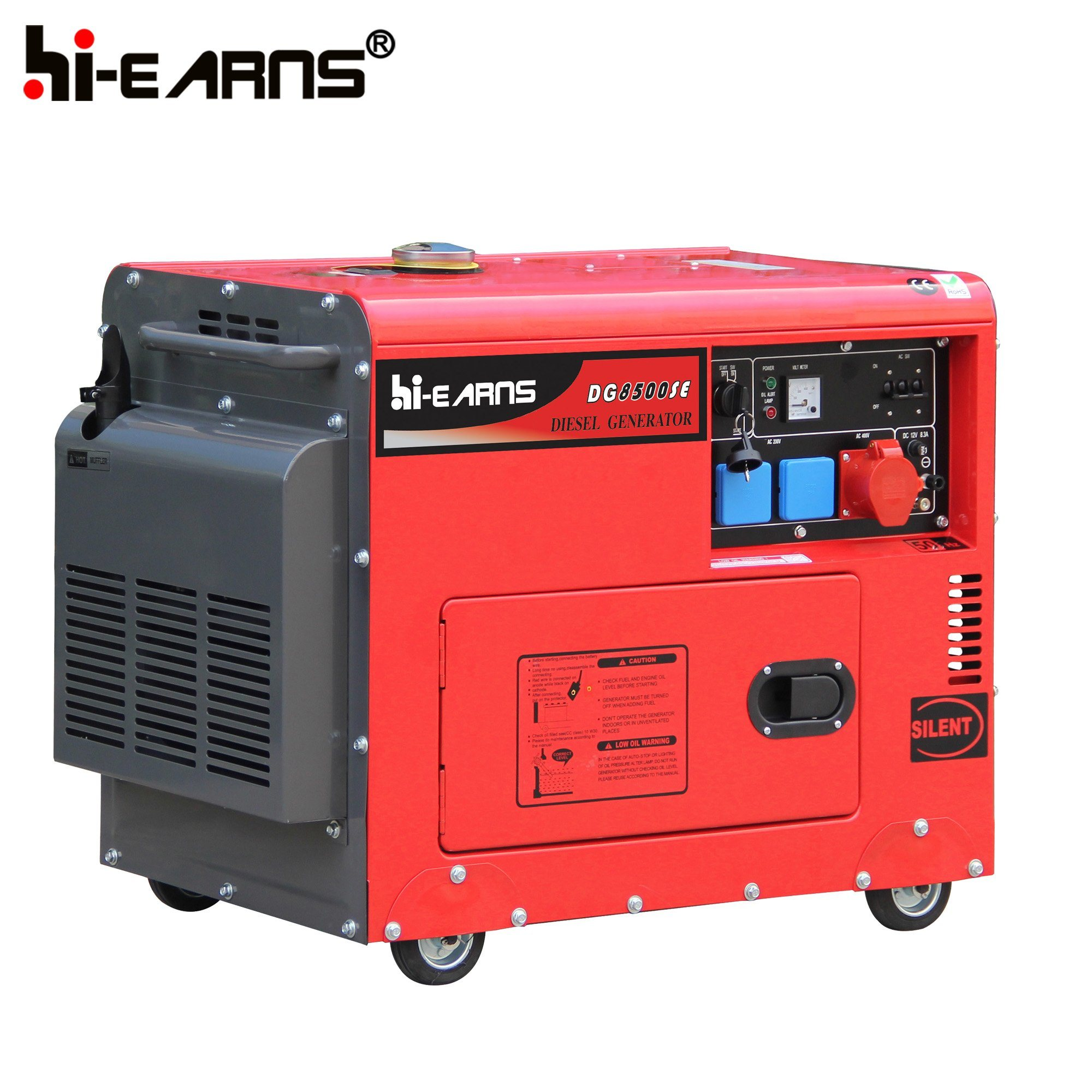 China 8kw Air Cooled Silent Type Diesel Power Generator Price