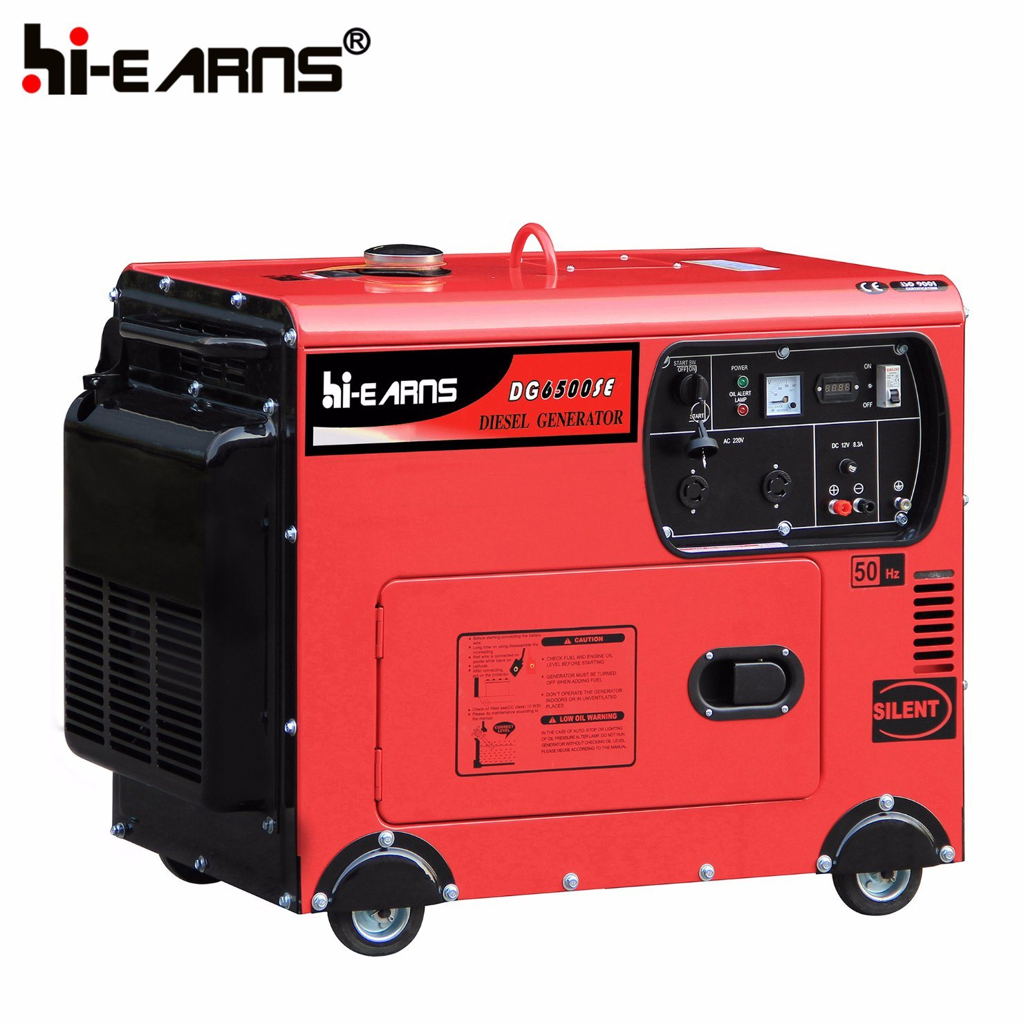 China 5kw Automatic Start Home Use Diesel Generator DG6500SE ATS