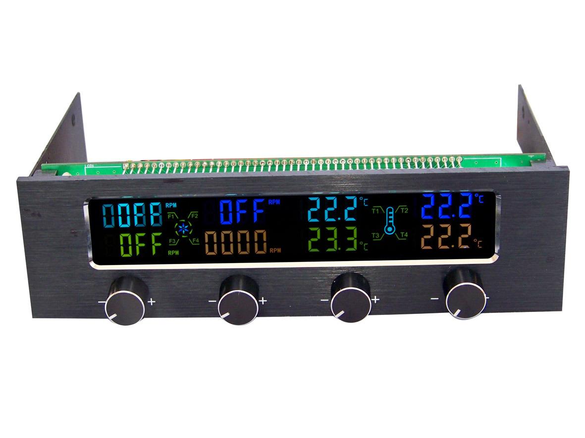 China Fan Controller/Temperature Controller LCD Module (STW 6041  #0124CA