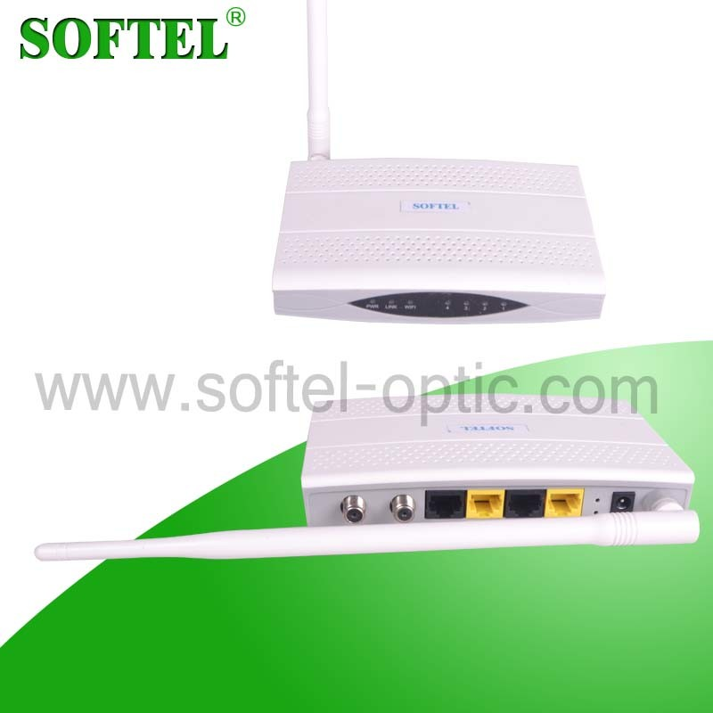 Coaxial Cable Ethernet Bridge CATV WiFi Eoc Modem