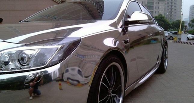 china chrome silver foil china chrome silver car color