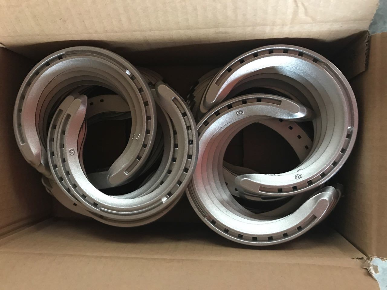 Aluminium Alloy Racing Horseshoes with Accessories