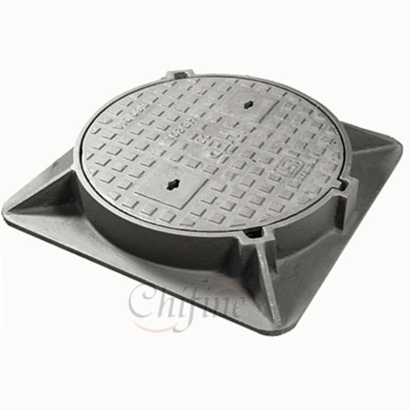 Customized Round Casting Manhole Cover F900