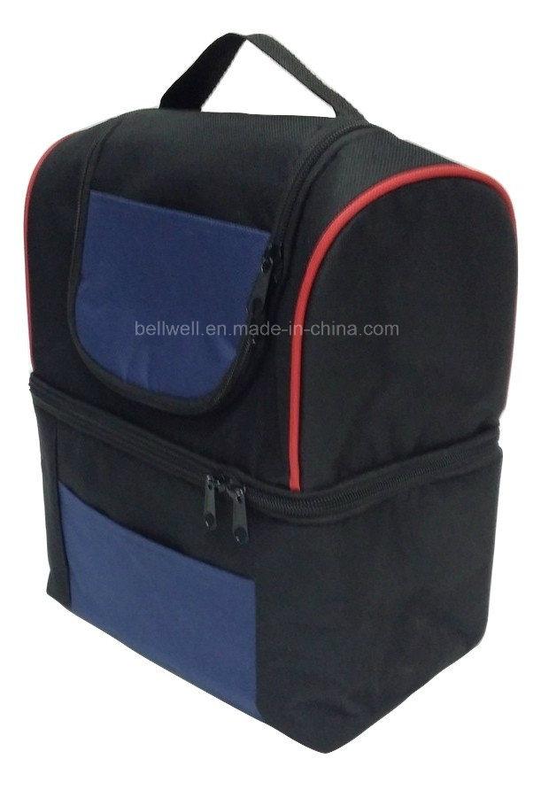 Double-Decker Cooler Box Travel Bag