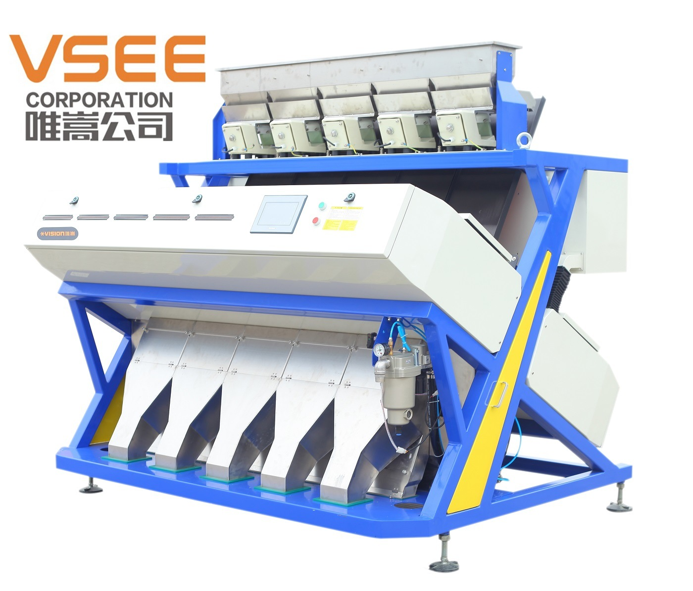 RGB Full Color Food Processing Machine Grain Color Sorter Peaunts Sorting Machine