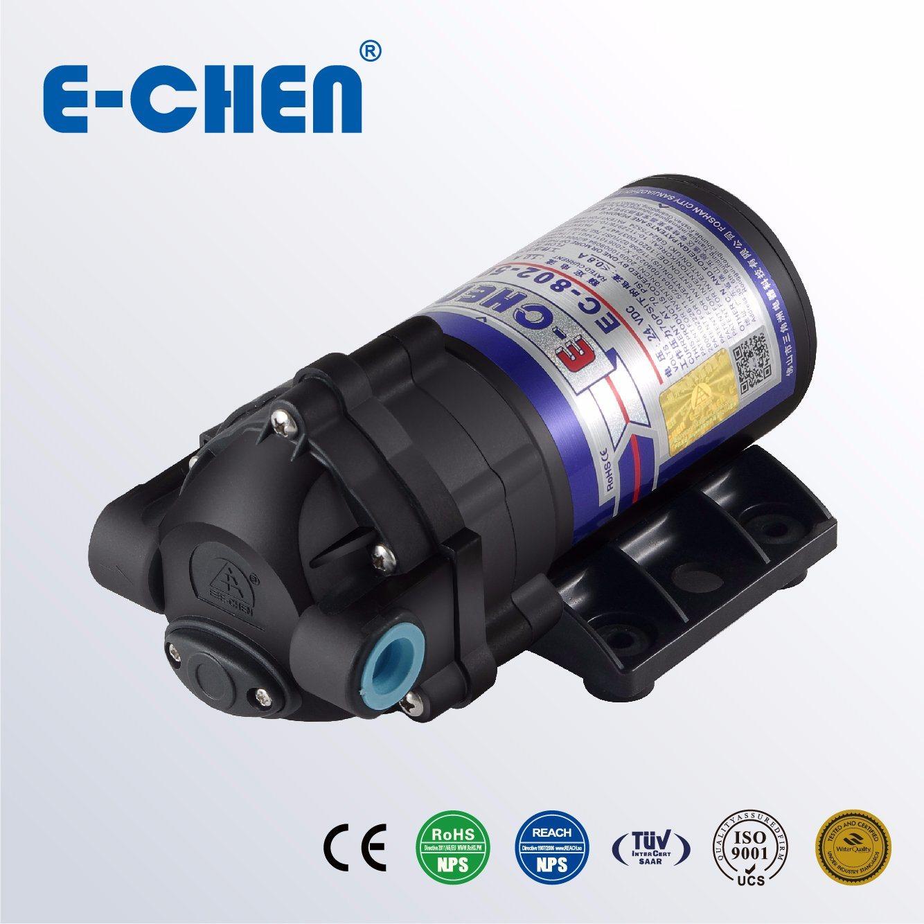 E-Chen 802 Series 75gpd Compact Diaphragm RO Booster Water Pump