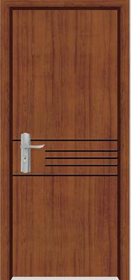 Solid Wooden Door (YFM-8006)