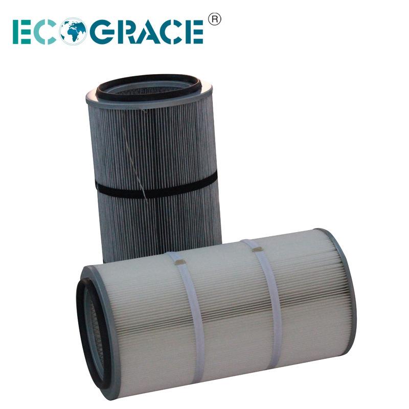 Gas Turbine Air Filter Cartridge Pleated Filter Cartridge (EC324/660)