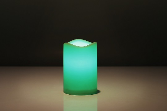 Color Changing Light Mode Options - Unscented Safe Indoor Candle