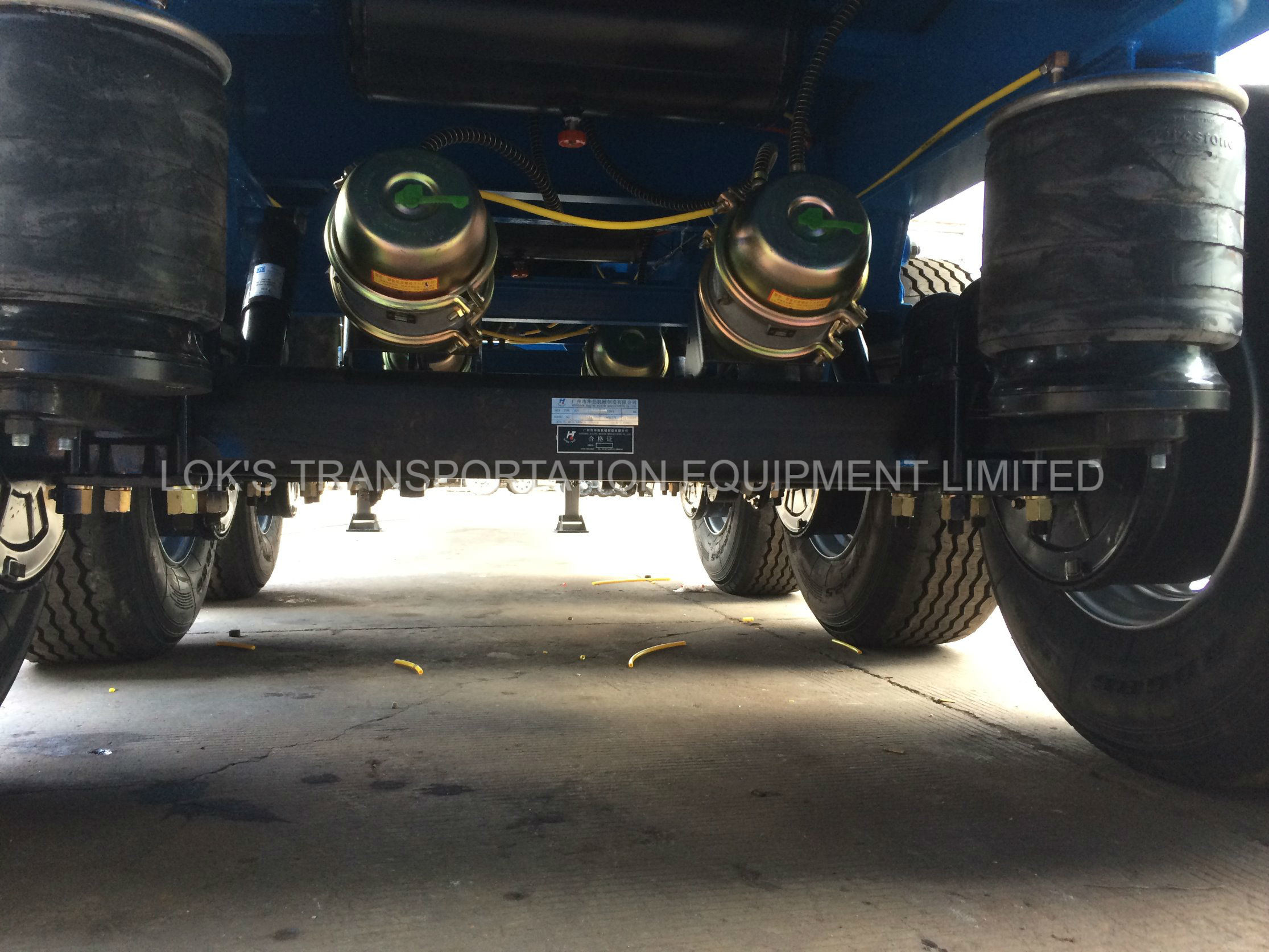 40 Feet 3axles Container Chassis Semi Trailer