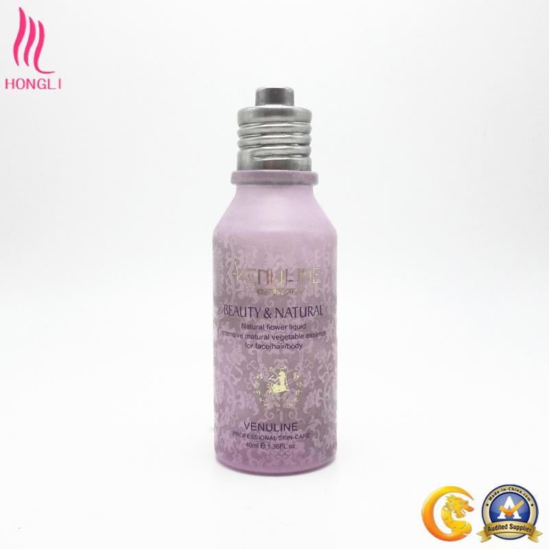 Makeup Glass Lotion Bottle of Oblique Shoulder