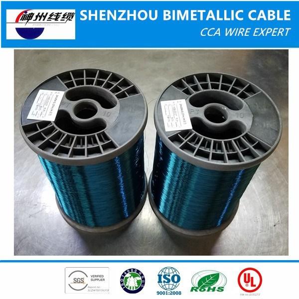 Best Price ECCA Wire (enamelled copper clad aluminum wire) Supplier