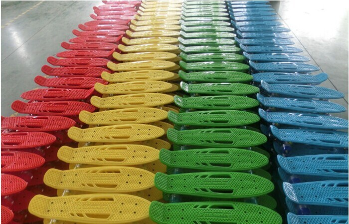 Plastic Penny Skateboard From Original Factory