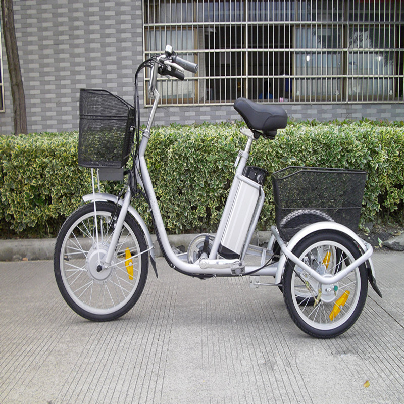 Lithium Battery Old Man Electric Tricycle